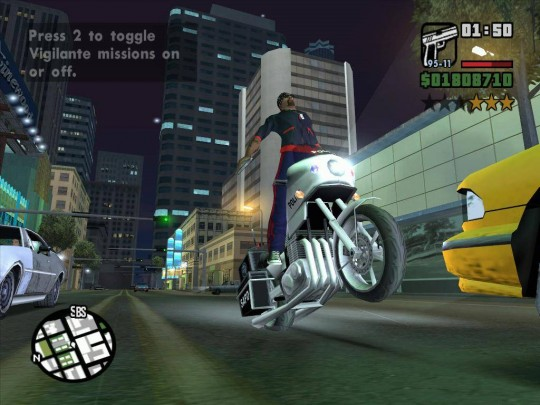 Grand Theft Auto: San Andreas cheat