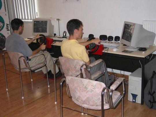 Logitech sajtótájékoztató 2002