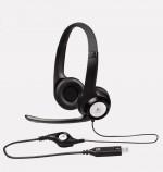 Új Logitech USB fejhallgatók