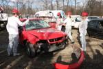 Burnout Paradise autózúzás Zimány Lindával, Debreczeni Zitával és Metzker Vikivel