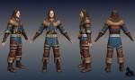 A Blind Guardian 3D modelljei a Sacred 2-ben