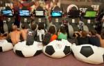 Electronic Arts sátor a Szigeten