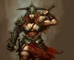 Diablo III - a női barbár