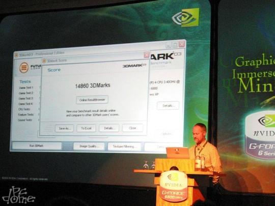 NVIDIA GeForce Ultra 6800 bemutató