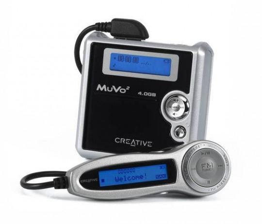 Creative MuVo Slim és MuVo<SUP>2</SUP>