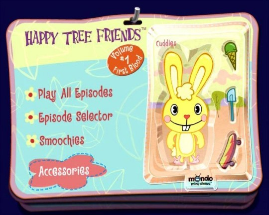 Happy Tree Friends - First Blood DVD