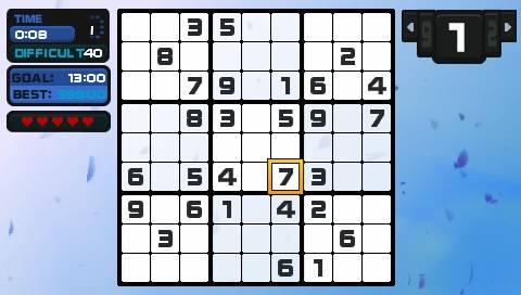 Go! Sudoku - PSP