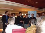 A CryTek csapata a sajtótájékoztatón - Crysis bemutató a GDF-en