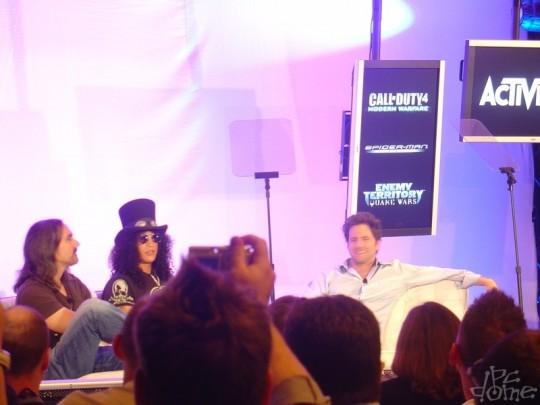 E3 2007: Activision sajtótájékoztató