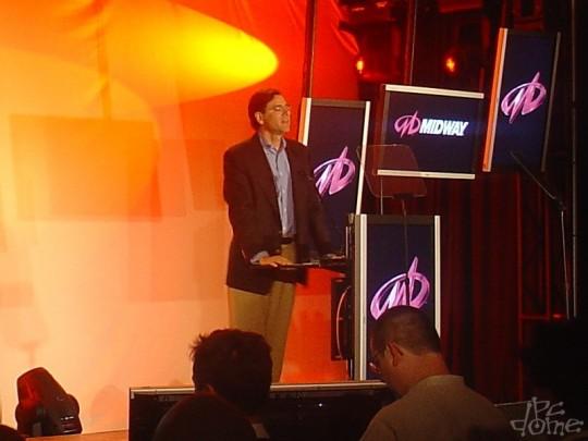 E3 2007: Midway sajtótájékoztató