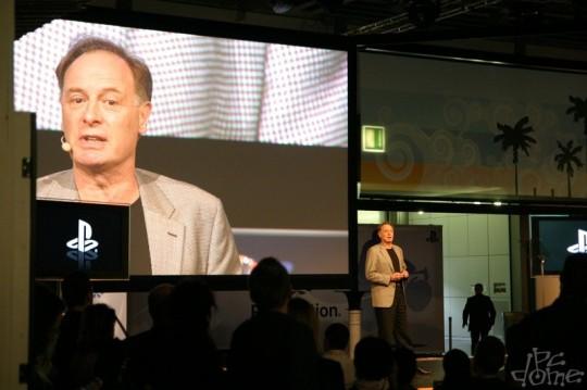 GC2007: Sony sajtótájékoztató