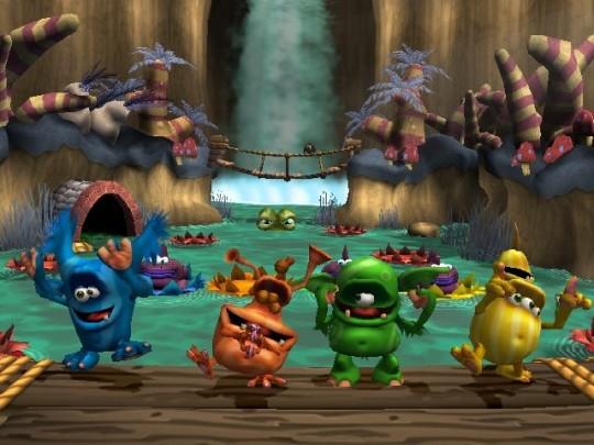 Buzz! Junior: Monster Rumble (PS2)