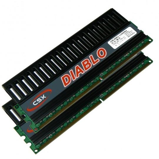 CSX Diablo memória