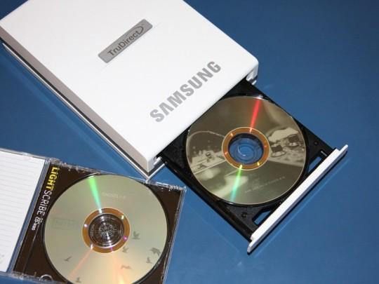 Samsung TruDirect SE-S204S külső DVD író