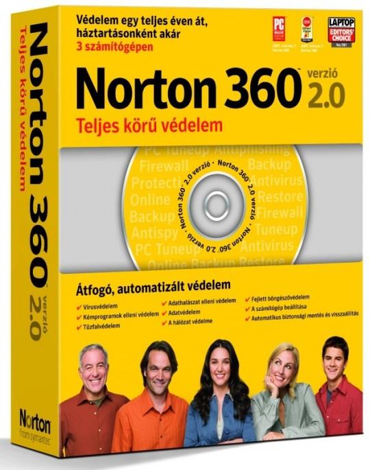 Norton 360 2.0 – vírusvédelem a családnak