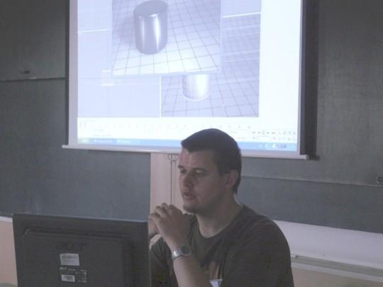 3ds Max Mesterkurzus az Invictus és a Debreceni Egyetem közreműködésével