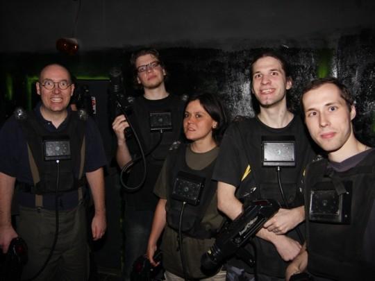 PC Dome lézeres lövöldözés