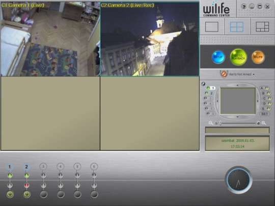 Logitech videós biztonsági rendszerek