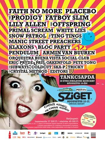 Sziget Fesztivál 2009. programajánló