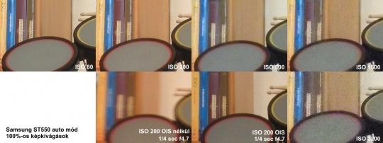 Samsung ST550 digitális fényképezőgép