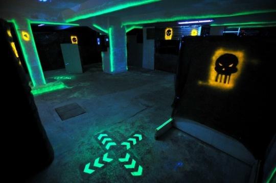 PC Dome szerkesztőségi találkozó a Laser Force-ban