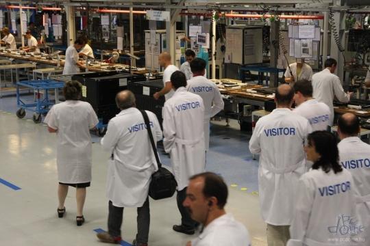 Philips gyárlátogatás Székesfehérváron