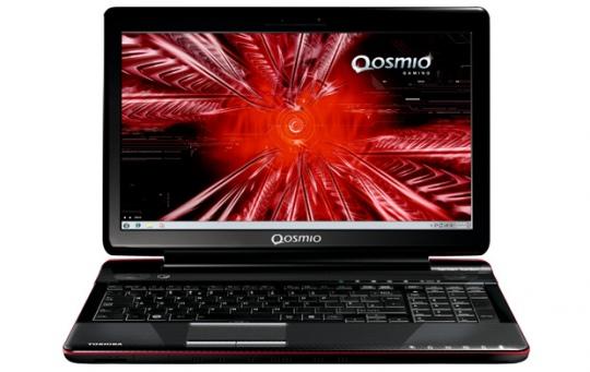 Toshiba Qosmio F750 3D notebook