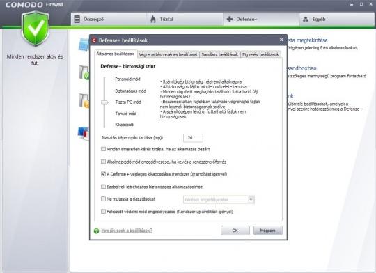 Biztonságban az interneten - Comodo Firewall