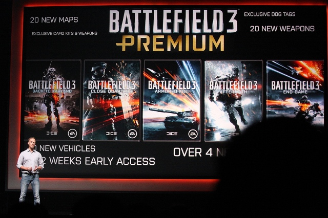 gamescom 2012 - Electronic Arts sajtótájékoztató
