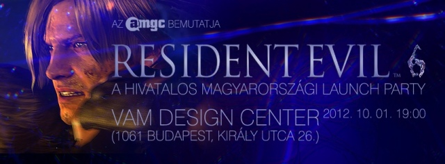 Resident Evil 6 launch party a VAM Design Centerben