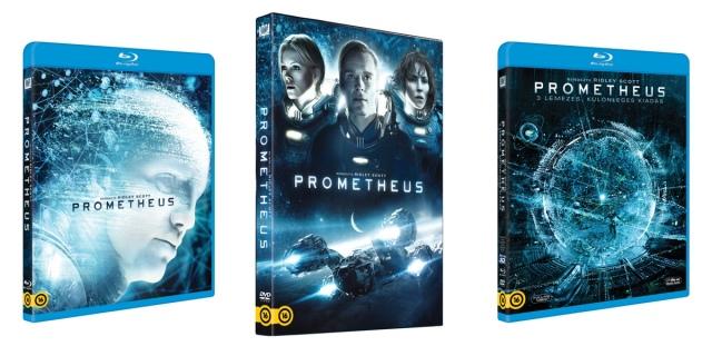 3D-s Blu-ray-en is megjelenik a Prometheus