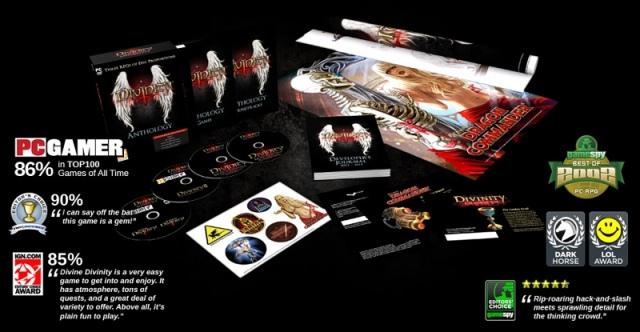 Divinity Anthology digitális és gyűjtői kiadásban