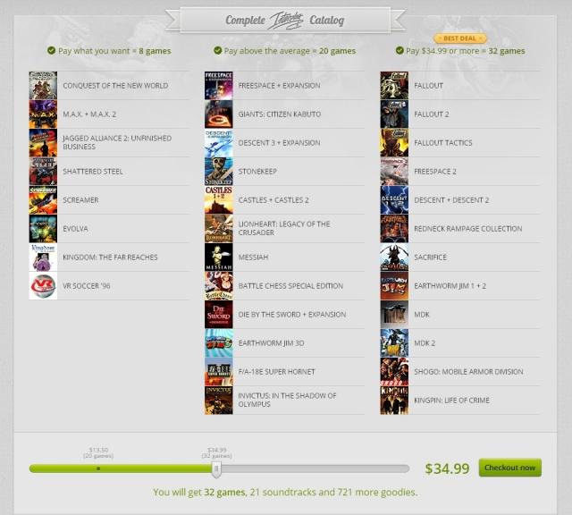 GoG.com újdonságok és akciók