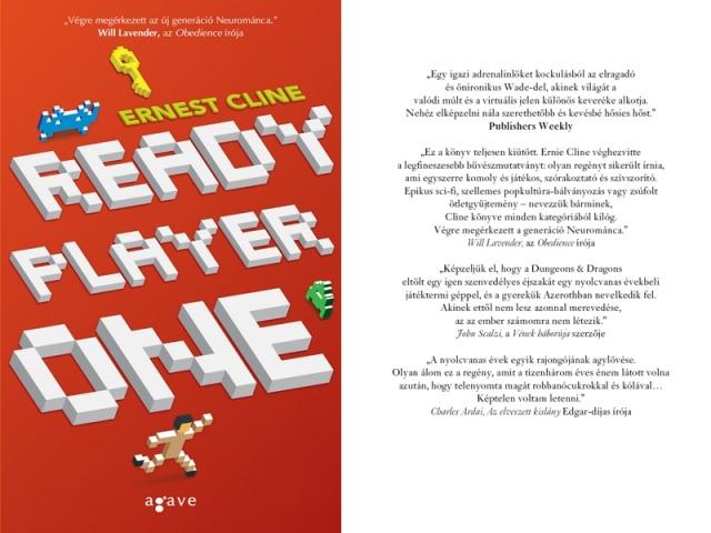 A hónap közepén jelenik meg Ernest Cline Ready Player One című regénye