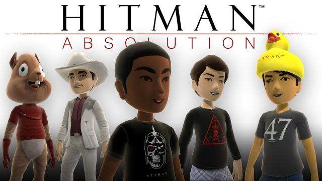 Hitman: Absolution Xbox Live avatárok