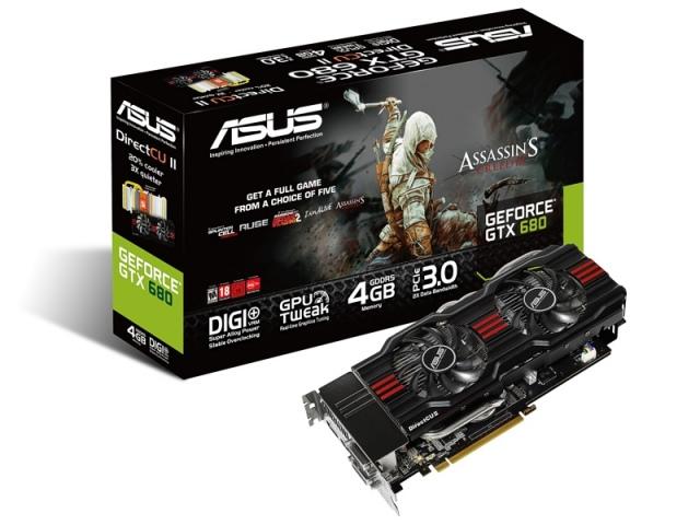 Két kártyahelyes GeForce GTX 680 DirectCU II videokártyával bővül az ASUS választéka