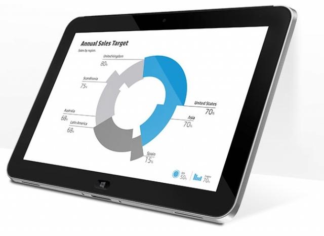 HP ElitePad –  Az üzleti tablet Windows 8-cal (x)