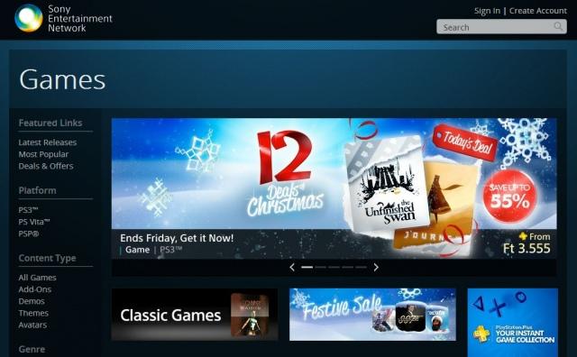 PlayStation Store - heti megjelenések - 51. hét