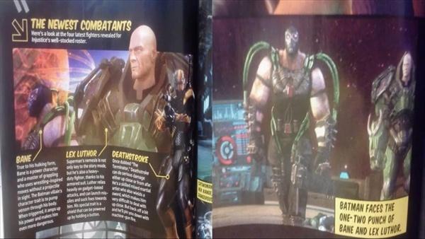 Lex Luthor és Bane az Injustice: God Among Usban