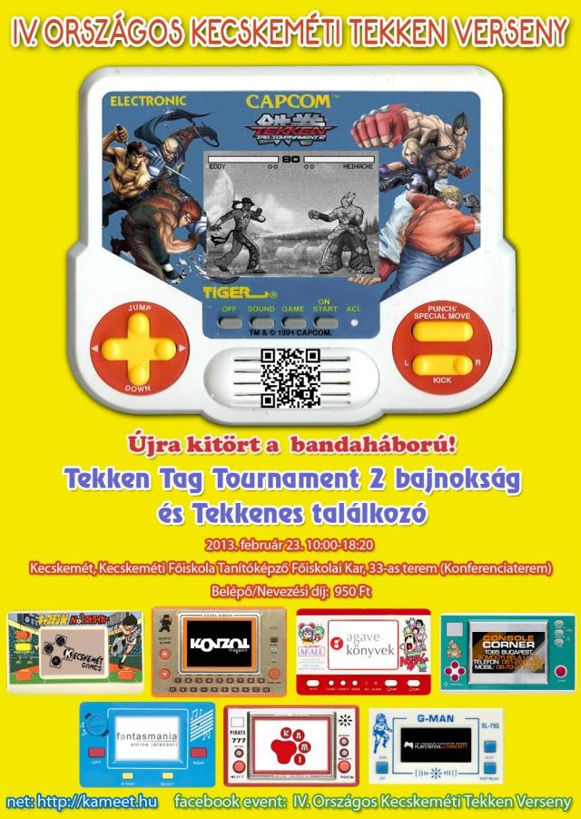 IV. Országos Kecskeméti Tekken Verseny