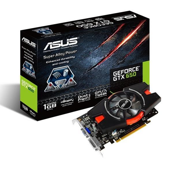 Megjelent az alacsony fogyasztású ASUS GeForce GTX 650-E