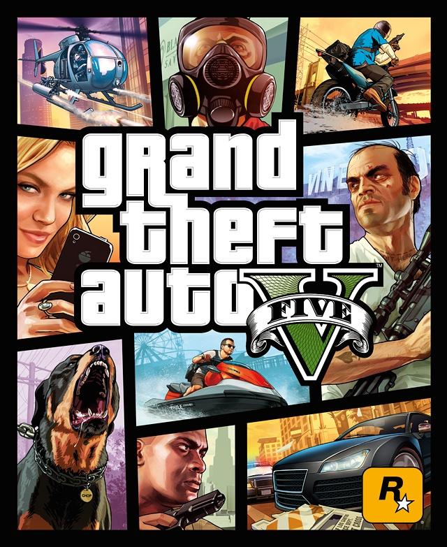 Bemutatták a Grand Theft Auto V borítótervét