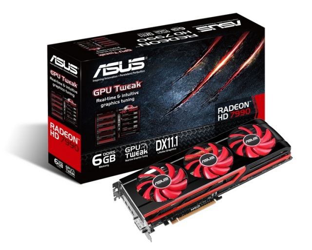 Májusban jön a két GPU-s ASUS Radeon HD 7990
