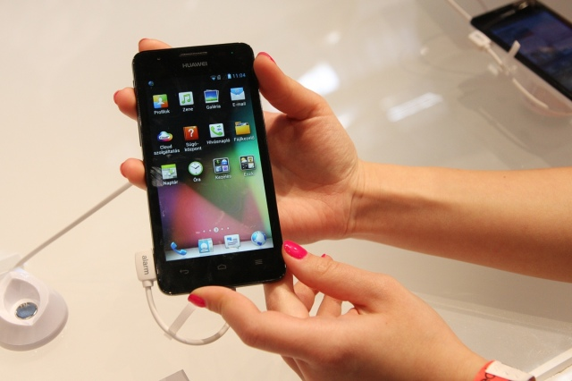 Új Huawei okostelefonok: Ascend G510, Y300 és Y210