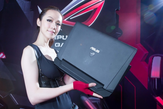 Új ASUS Republic of Gamers hardvereket mutattak be