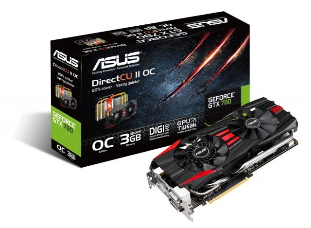 A hónap végén érkezik az ASUS GeForce GTX 780 DirectCU II