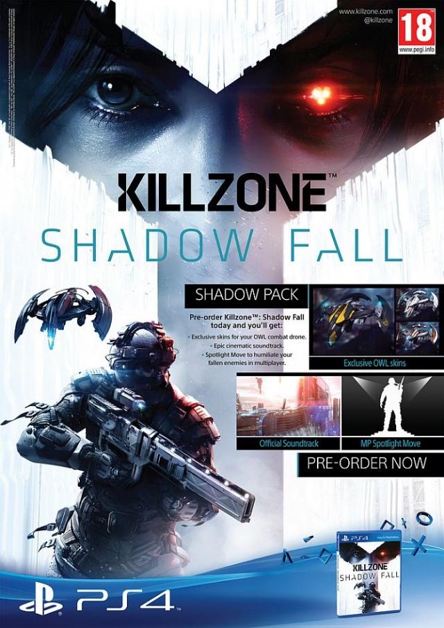 Killzone: Shadow Fall előrendelői bónuszok