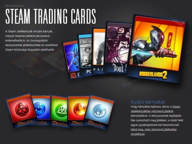 Steam Játékkártyák