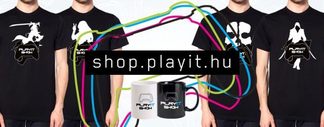 Elindult a PlayIT shop