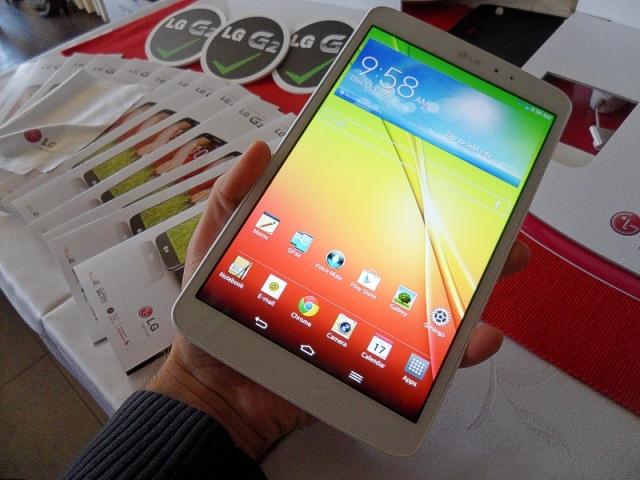 Hazánkban is bemutatkozott az LG G2 és G Pad 8.3